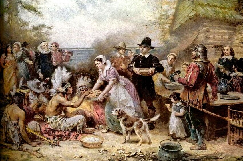 The First Thanksgiving in America
