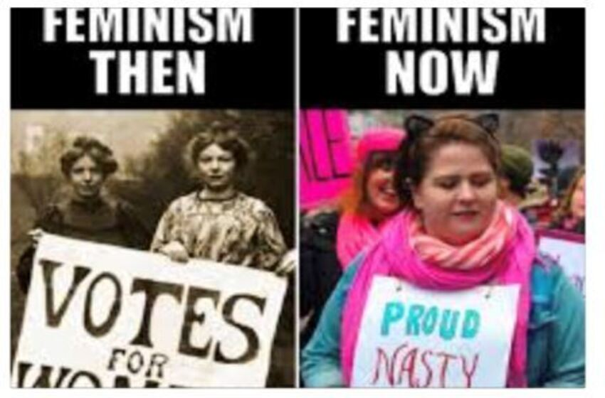 FEMINISM  DESTROYING OUR CULTURE