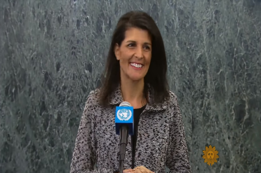 Nikki Haley: 'Every American Should Watch This' Comey Video; 'It Will Send a Chill Up Your Spine'