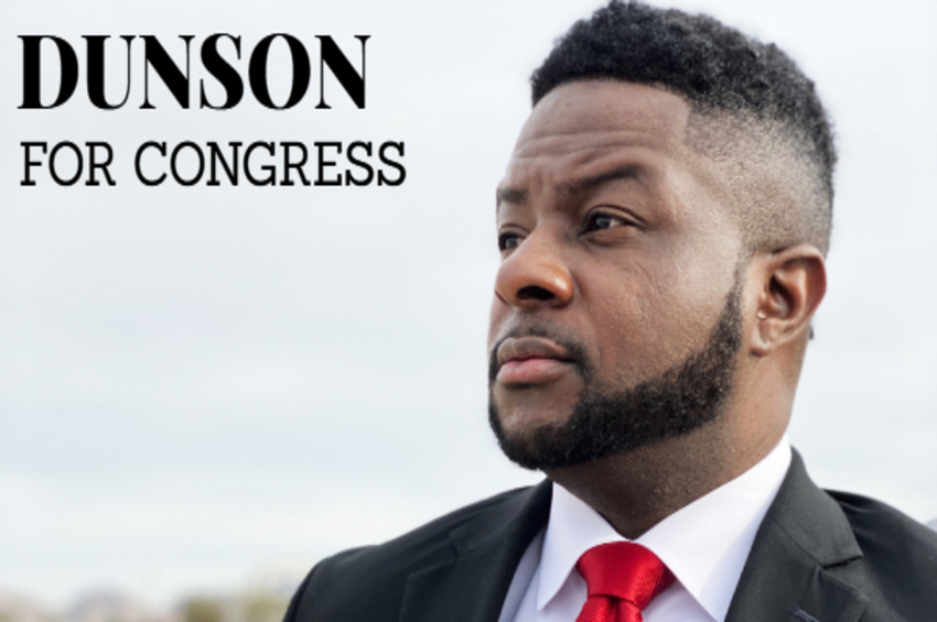 Black Republican Candidate for United States Congress Leo Dunson