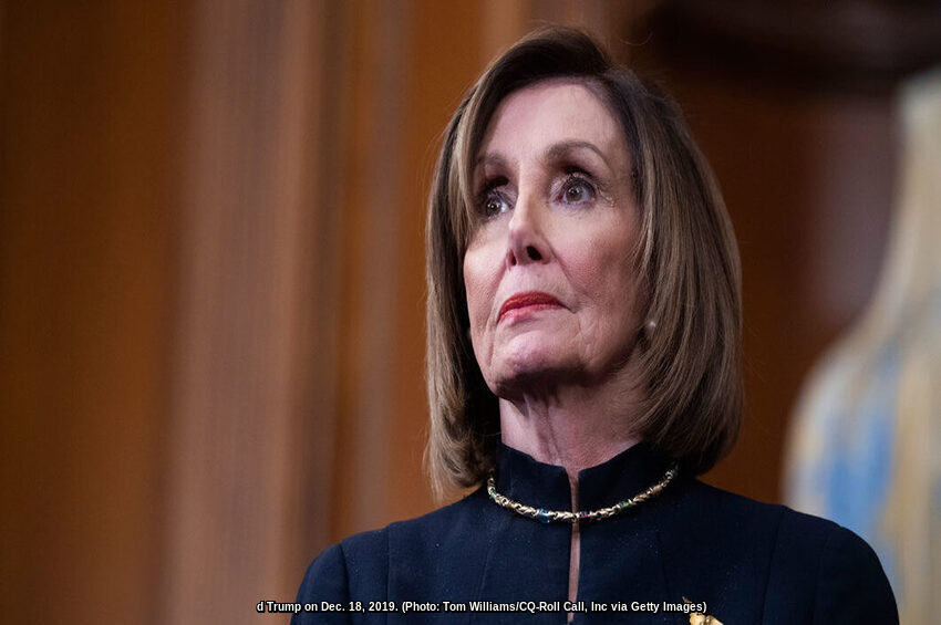 Pelosi's Impeachment Gamble Is Unconstitutional