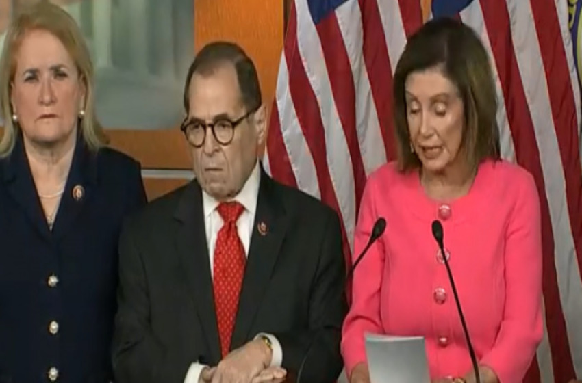 Pelosi Quotes Famous Men in Advancing Impeachment: 'Listen My Children and You Will Hear…'