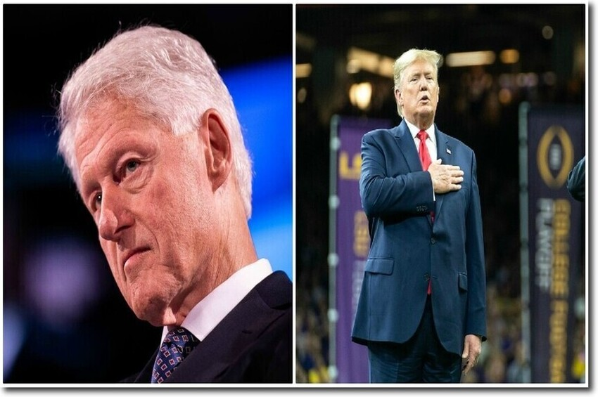 A tale of two impeachments: Clinton was charged with 11 actual crimes; Trump has been charged with ZERO crimes
