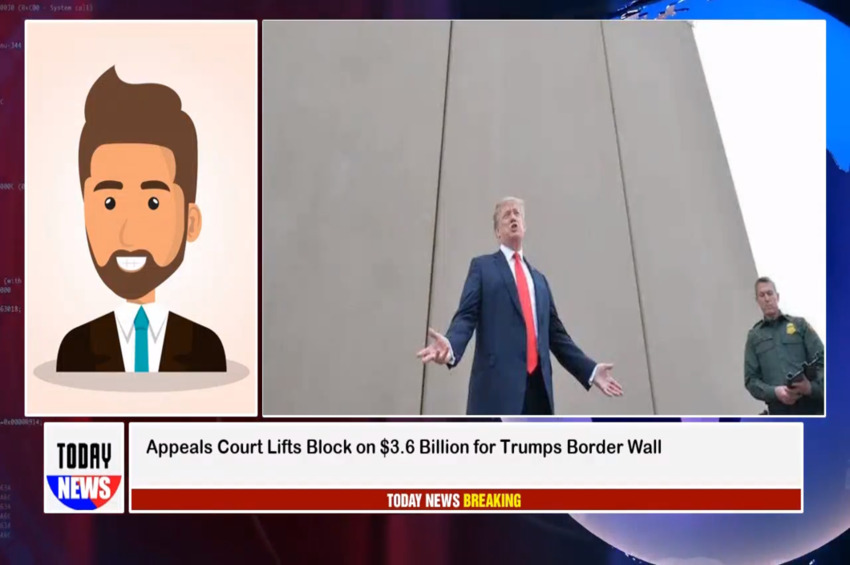 Fifth Circuit Court Lifts Block On $3.6 Billion For Border Wall Construction