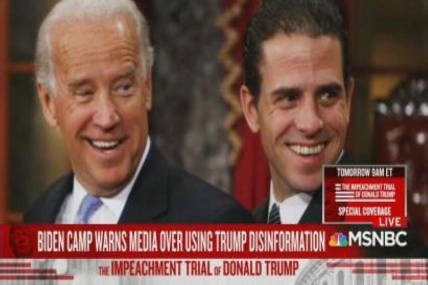 Taking Orders: MSNBC Touts Biden 'Warning' Press to Ignore 'Debunked' Trump Claims