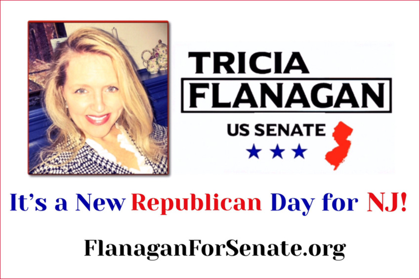 NJ's SENATE  CANDIDATE TRICIA FLANAGAN's PERFECT 2020 VISION
