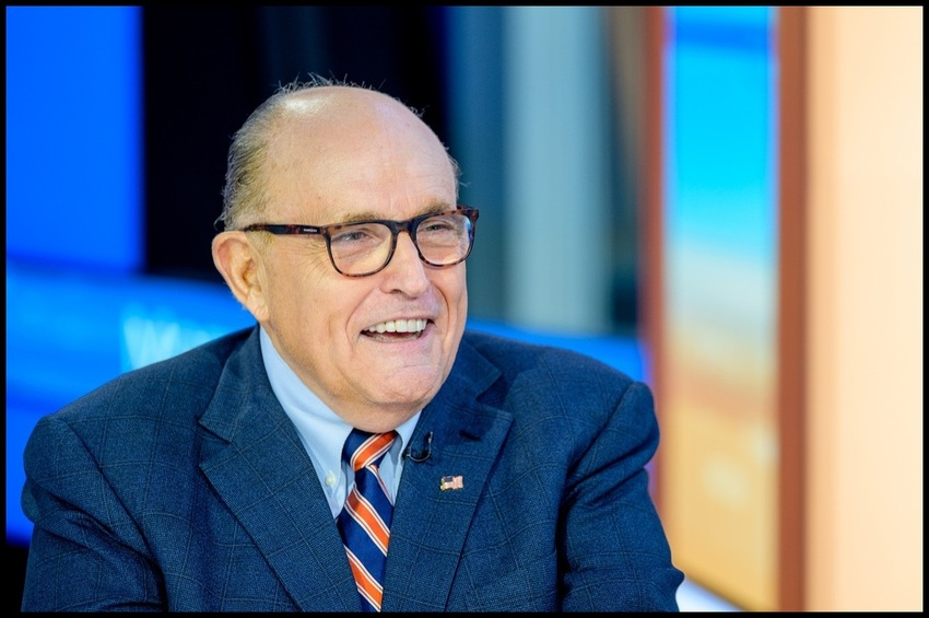 Giuliani Posts Bernie Sanders Video: 'Imagine This Idiot Debating Trump'