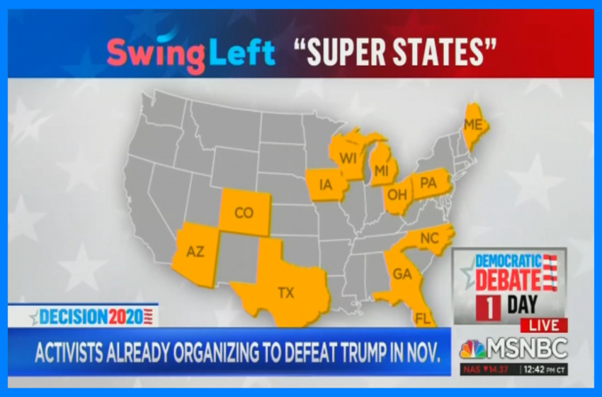 MSNBC Thrilled By Dems Ready to 'Swing Left' in 2020