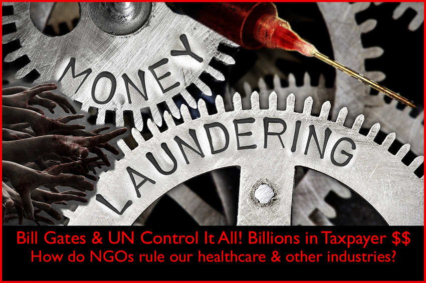 Comprehensive VIDEO on how NGOs control our entire healthcare system & other industries, in particular Bill Gates and the UN, while using our taxpayer dollars.