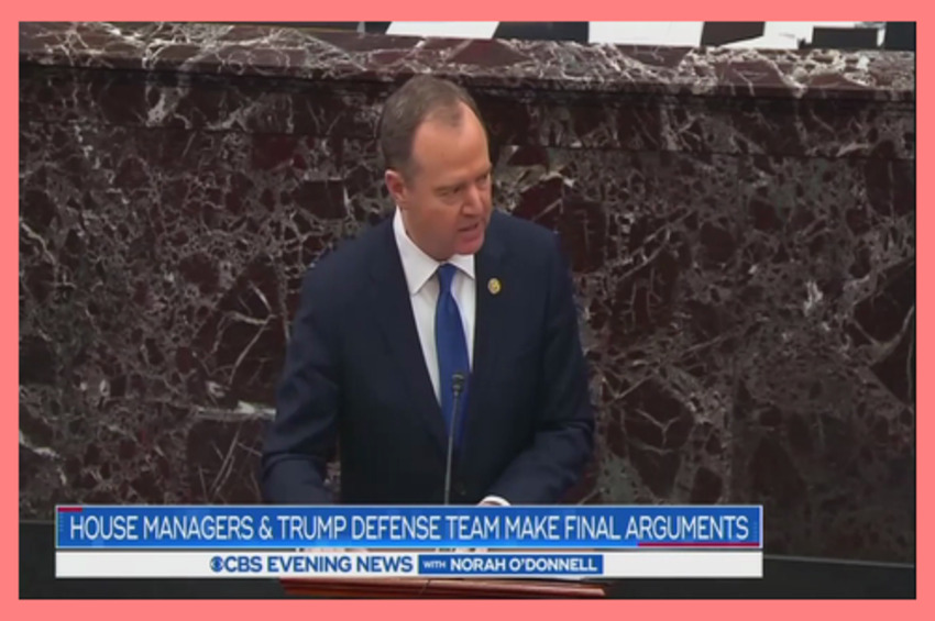 Nets Hype Schiff's 'Warning' to GOP, Ignore His Crazy Conspiracy Theories