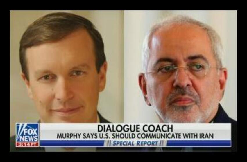 Broadcast Networks Ignore Democratic Senator Murphy's Meeting with Iran's Zarif