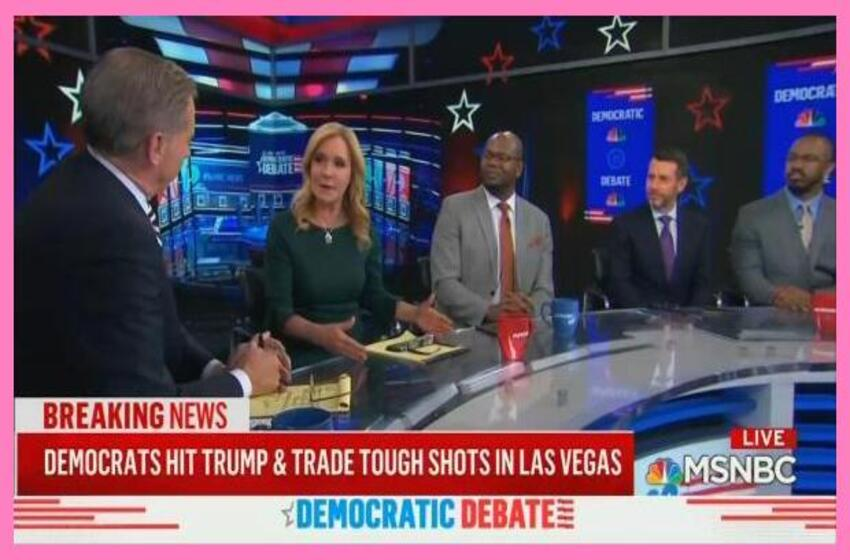 Late-Night MSNBC Blasts Dems Not Attacking Bernie; 'Great Night for Donald Trump'
