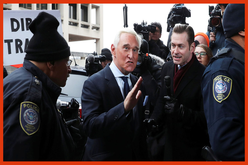 Roger Stone Sentenced to 3 Years and 4 Months in Prison!