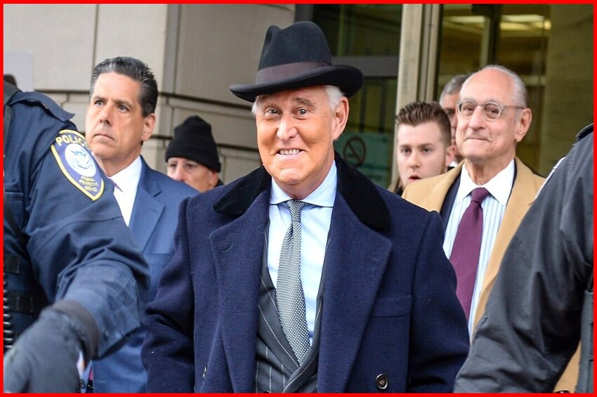 Stone Sentencing Ends Russia Collusion, Part I