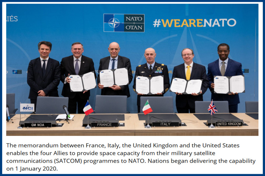 NATO signed a treaty Tuesday binding the U.S. for 15 years without consent of the President or Senate