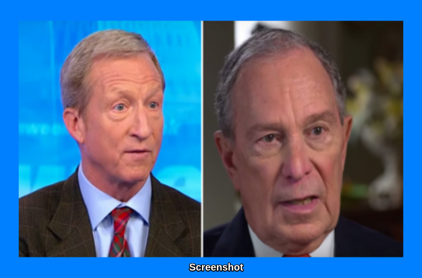Billionaire Bumblers: Bloomberg, Steyer Spent at Least $1,063,718,074 Trying to Oust Trump