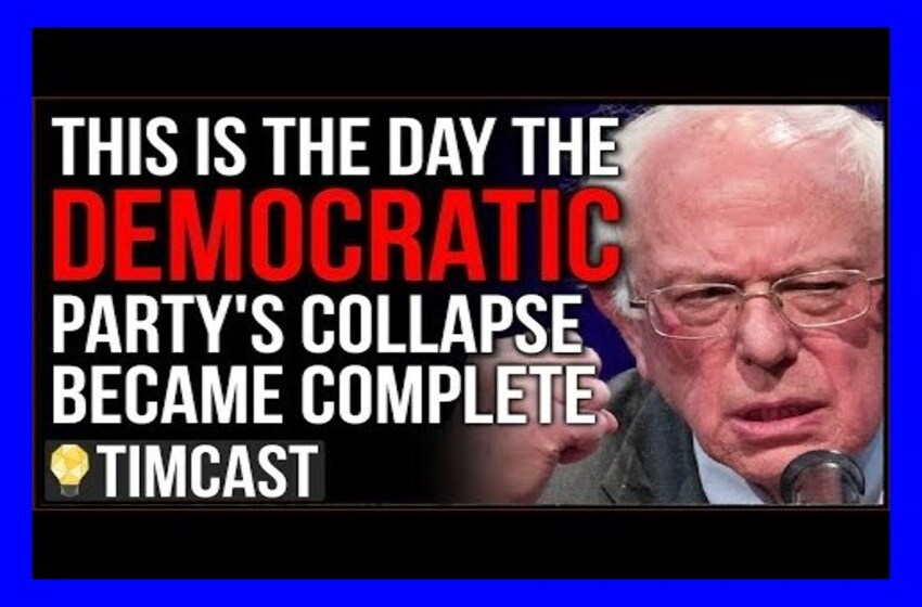 The Democratic Party Is CRUMBLING, Super Tuesday Is The Day We Witnessed The Democrats Collapse