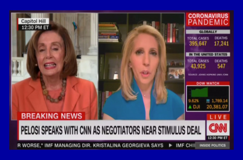 Wow: CNN Actually Calls Out Pelosi's Botched Corona 'Wish List'