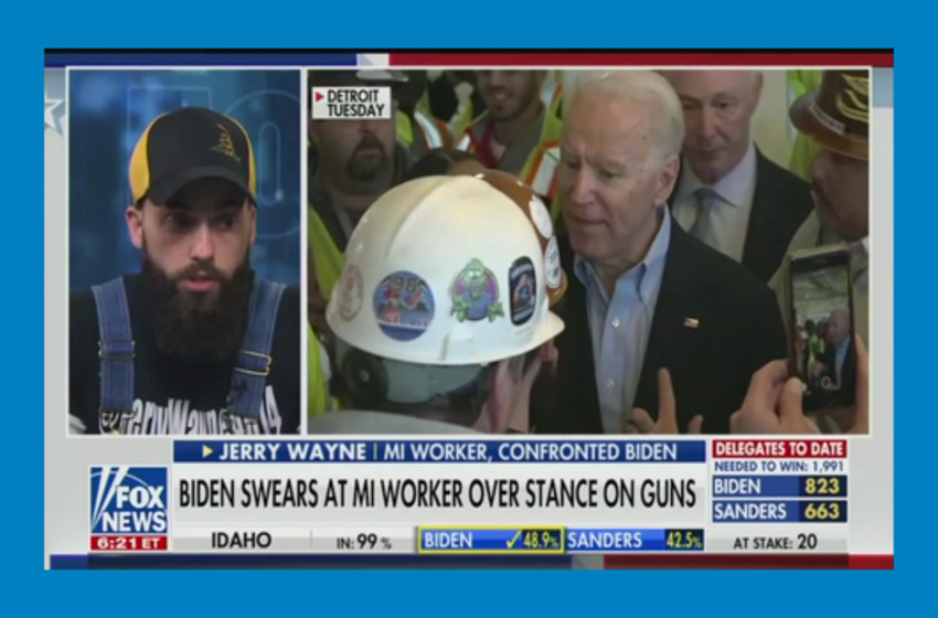 Fox Talks to Worker Who Joe Biden Swore at in Profanity-Laced Rant