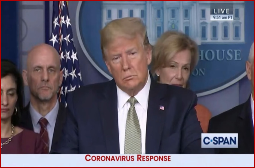 "Trump doubles down on calling Coronavirus ""Chinese virus"""