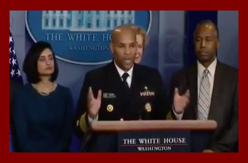 U.S. Surgeon General to Media Amid Coronavirus Crisis: Quit 'Bickering', 'Finger Pointing'