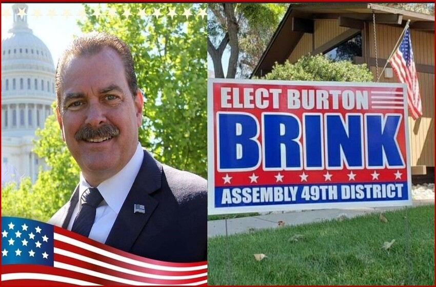 BURTON BRINK MOVES ON TO GENERAL ELECTION IN NOVEMBER AGAINST CHAU