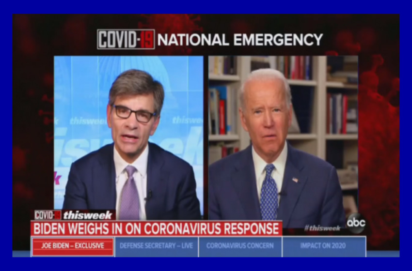 ABC Asks Biden to Blame Virus Deaths on Trump, Ignores Sexual Assault Claim