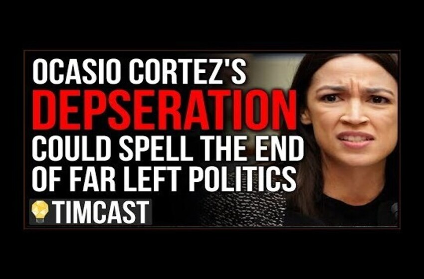 Ocasio Cortez's Desperation Could Spell THE END Of Far left Democrats, Her Opponent Just Raised $1M
