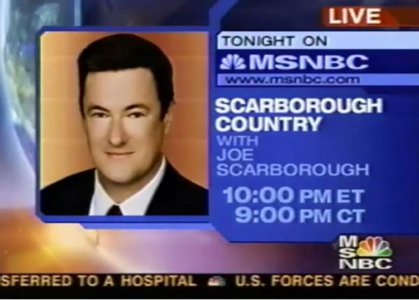 BREAKING: Video Surfaces of Joe Scarborough Joking About Having Affair With Intern and Having to Kill Her