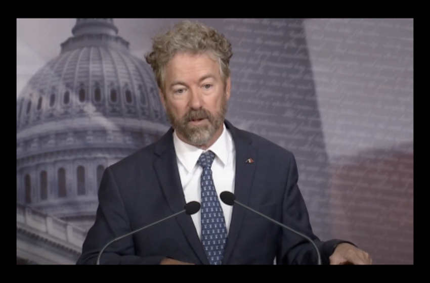 Sen. Paul: 'Biden Is Guilty Of Using Gov't To Go After a Political Opponent'