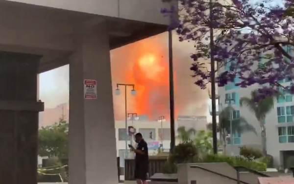 BREAKING: Massive Explosion in Los Angeles, Multiple Buildings Burning, 230 Firefighters Responding — Ten Injured