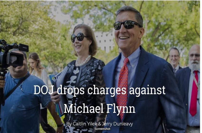 DOJ drops charges against Michael Flynn