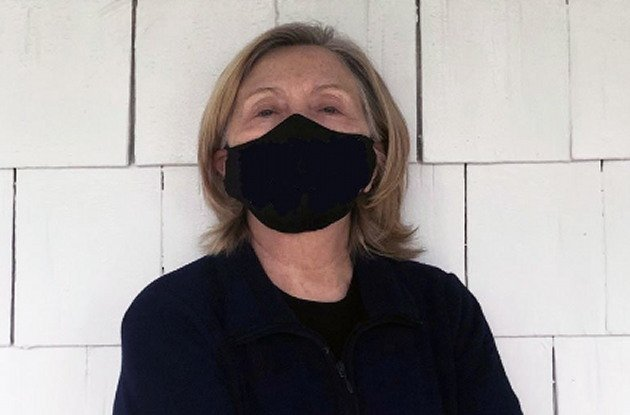 HILARIOUS: Hillary Clinton Shares Photo Of Herself In A Mask And People Have Way Too Much Fun With It