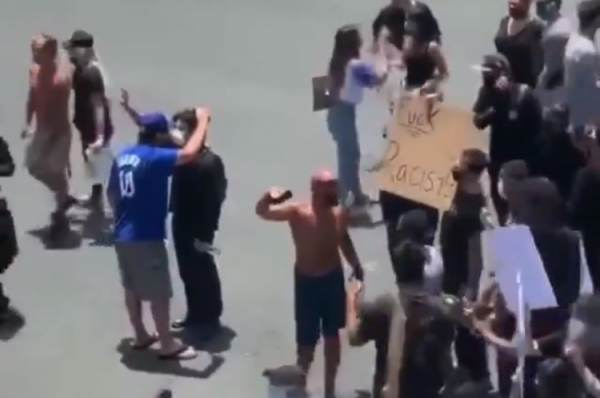 Huntington Beach Locals Beat the Crap Out of Antifa Terrorists and Send Them Running For Their Lives (VIDEO)