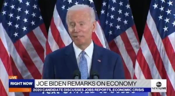 Joe Biden Tries to Lie About Coronavirus But Ends Up Making No Sense in Jumbled Word Salad (VIDEO)