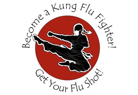 "Obama VA in 2015: ""Become a Kung Flu Fighter! Get Your Flu Shot!"""