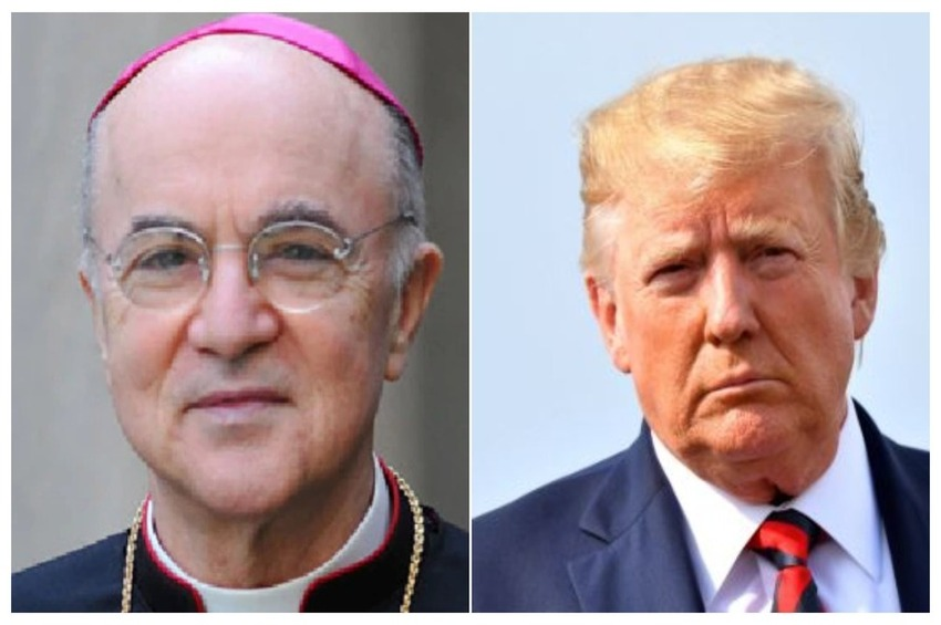 Arbp. Vigano to Trump: 'I Bless You' in 'Biblical' Battle Against the 'Deep State,' the 'Children of Darkness'