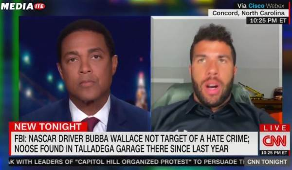 Soooo Funny! Hoaxer Bubba Wallace LASHES OUT After He Claimed a Door Rope was a Noose and FBI Busted His A$$ (VIDEO)