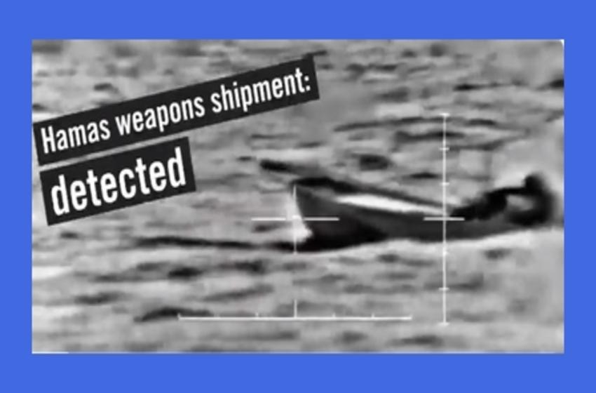 Israeli Navy Intercepts Hamas-bound Arms Shipment From Sinai