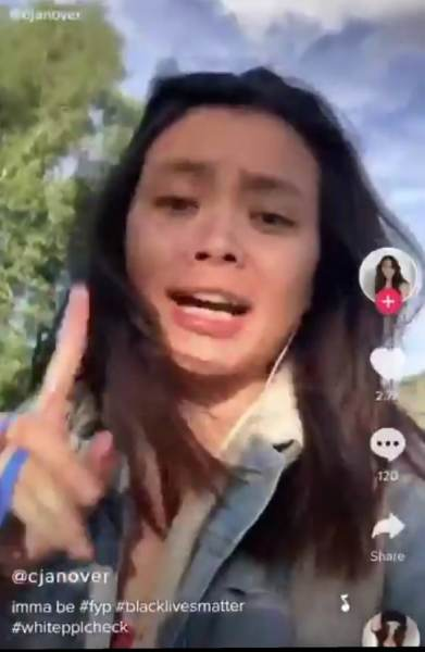 Woke Harvard Senior Claims TikTok Video of Her Saying She'll Stab and Watch Bleed Out the Next Person with 'Caucasity' to Say All Lives Matter is a Joke