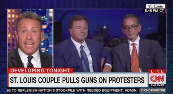 St. Louis Homeowner Mark McCloskey Dunks on CNN Hack Chris 'Fredo' Cuomo with Epic One-Liner (VIDEO)