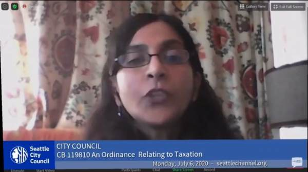 """Radical Seattle City Councilmember Kshama Sawant Vows to Overthrow the United States and Replace with """"a Socialist World"""""""