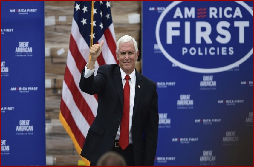 Pence pledges Trump is safer for America at Pennsylvania campaign rally