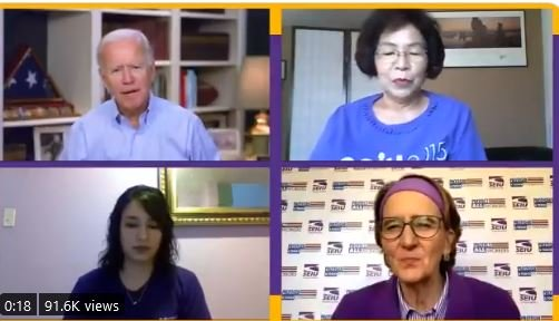 """WOW! Joe Biden Says It's Wrong to Hold China Accountable Because Americans Can't Distinguish Between """"a South Korean and Someone From Beijing"""""""