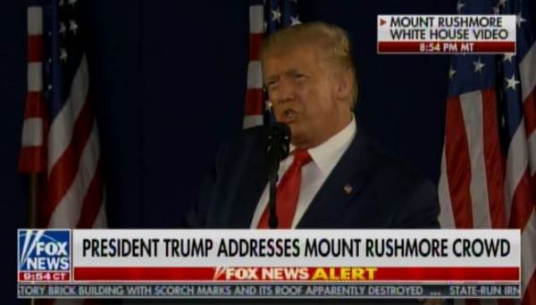 """""""I am Here as Your President to Proclaim Before You and the World this Monument will Never Be Desecrated!"""" — President Trump at Mt. Rushmore (VIDEO"""
