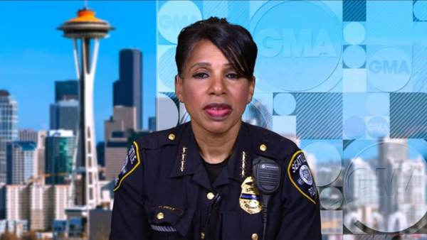 Seattle Police Chief Carmen Best to Resign Tomorrow Morning Following City Council Vote to Defund Police