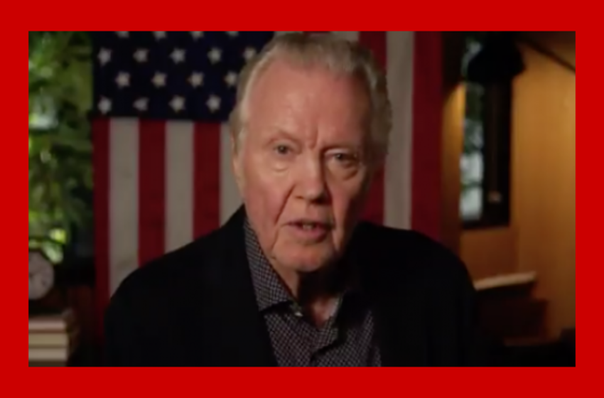 Actor Jon Voight: 'Democrats are Destroying this Country with Evil Propaganda and Ignorance'