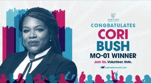 HUGE UPSET! Commie Leftist Cori Bush Defeats Lacy Clay in Missouri District 1 Democrat Primary