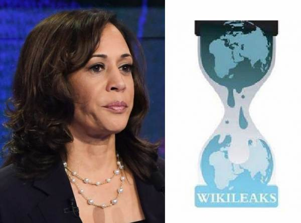 BREAKING: Wikileaks Posts 137 Documents on Kamala Harris Hours After She Is Named Joe Biden's Running Mate