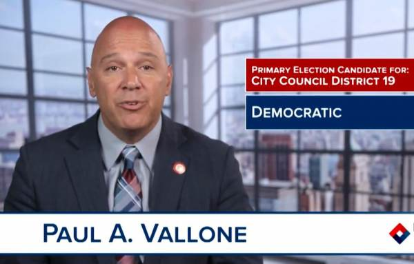 Democrat NYC Councilman Paul Vallone Credits Hydroxychloroquine with Saving His Life